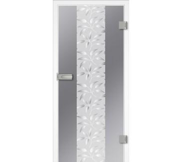 Notranja vrata Steklena FLORA1