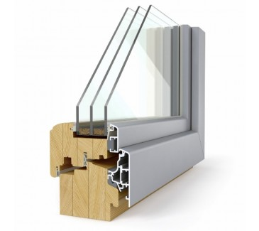 Leseno okno LES ALU 92 c