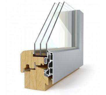 Leseno okno LES ALU 92