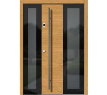 Lesena vhodna vrata VETRO