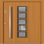 Lesena vhodna vrata CLASSIC
