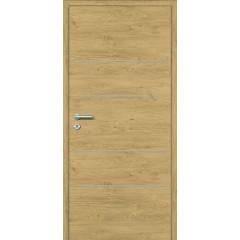 Design notranja vrata s skritimi nasadili