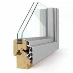 Leseno okno LES ALU 68