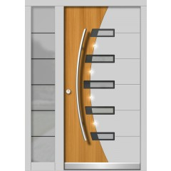 Lesena vhodna vrata MODERN