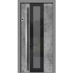Les Alu vhodna vrata VETRO