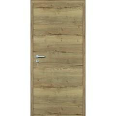 Standardna notranja vrata s skritimi nasadili