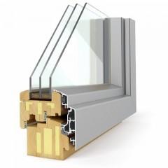 Leseno okno PASIVNO 92 elegant