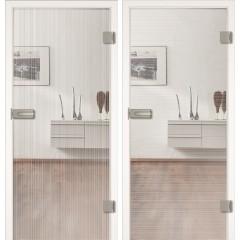Steklena notranja vrata Design STRIPES DA ali DQ