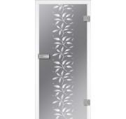 Steklena notranja vrata Design FLORA2