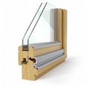 Lesena okna NATUR PROFIL 68