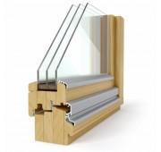 Lesena okna NATUR PROFIL 92