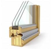 Lesena okna PASIVNO SOLUTION 92